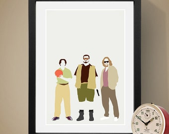 The Big Lebowski Poster, Movie Poster, People, Art Print, Film Poster