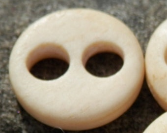 Antique Carved Bone Antique Button 1800's