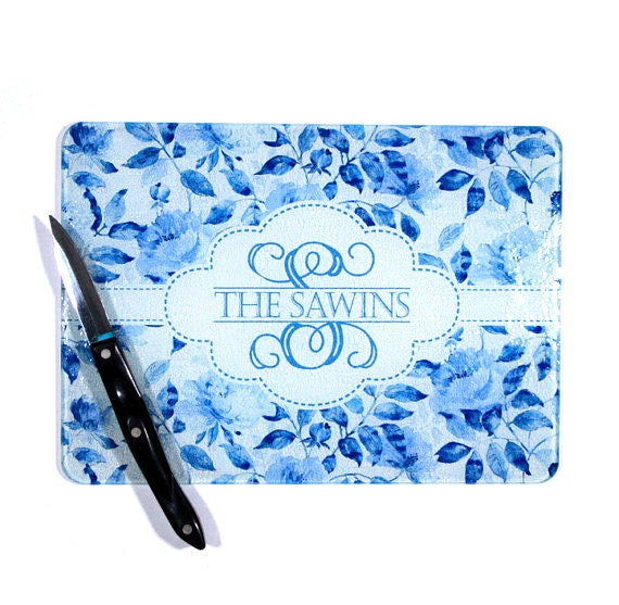 Kitchen Gifts For Mom Classic Personalized China Blue Custom