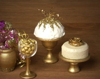 Glistering Party Dome Cake for your Dollhouse