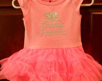 Daddy's Princess TuTu Onesie