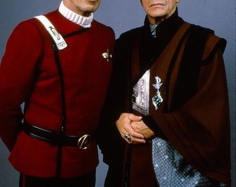 Great photo of Spock and Sarek from Star Trek.