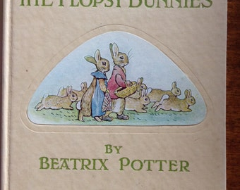 Vintage Beatrix Potter book    The Flopsy Bunnies  1940s