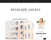 Penelope Lovely Blogger Theme  - Premade Blogger Template - Responsive Blogger - Minimalist Blogger - Lifestyle Fashion
