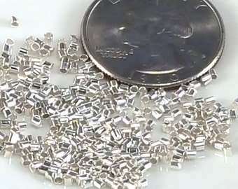 Silver Crimp Tubes - 1.5 or 2mm