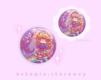 "Sparkly Kyary Pamyu Pamyu 1.5"" Button / Pin / Badge"