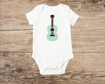 Guitar Baby Clothes, Baby Guitar Toddler T Shirt
