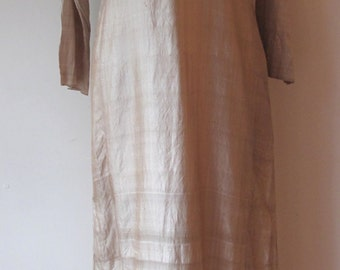 1970s Silk Caftan