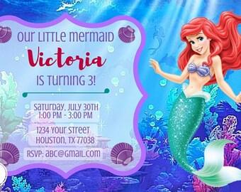 Ariel Invitation