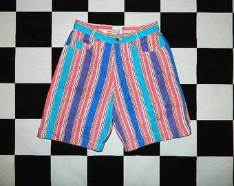 Vintage Striped Shorts...