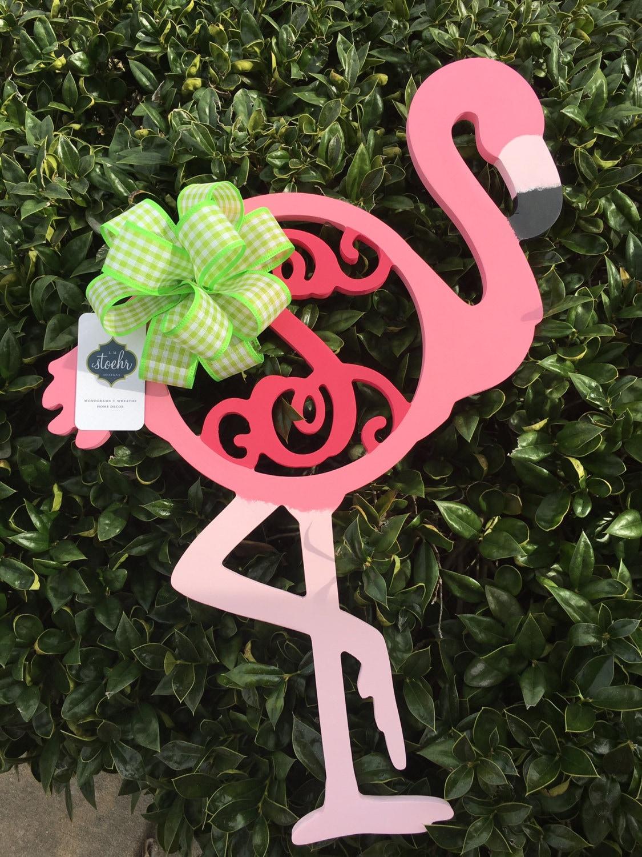 Flamingo Door Hanger