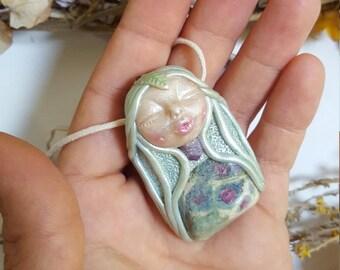 heart of harmony  goddess, healing jewelry, goddess necklace