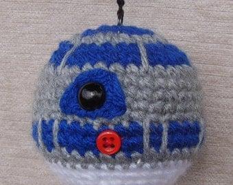 Star Wars R2D2 inspired crochet Baubles