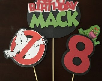 Ghostbusters Inspired Centerpiece Sticks