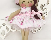 Fabric Dolls, Handmade Doll, Gifts for Girls