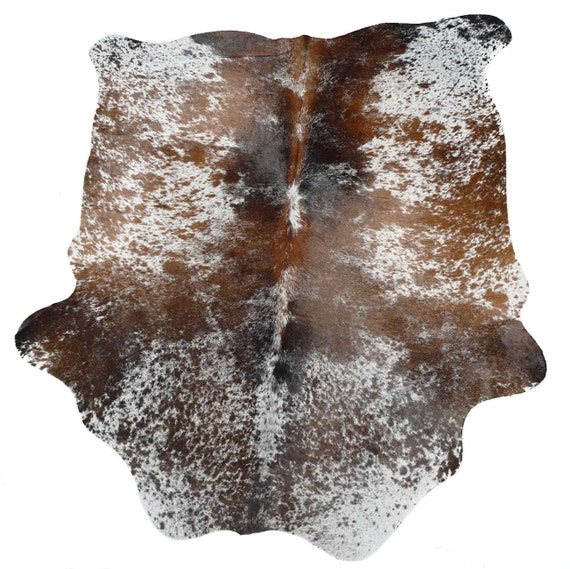 Cowhide Rug Cow Hide Brown Tricolor Exotic Brazilian