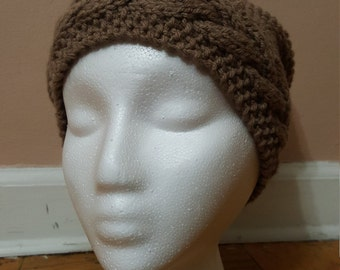 Slouchy hand made hat