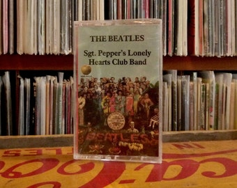 "The BEATLES on CaSSETTE - new Still Sealed ""Sgt. Pepper's Lonely Hearts Club Band"" (C4-46442)"
