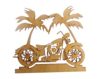 Motorcycle Ornament - Motorcycle Ornaments - Biker Gift - Motorcycle Gift - Motorcycle Gifts - Personalized Free