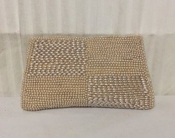 Vintage Beaded Clutch Purse, Japan,Made in Japan,1960s