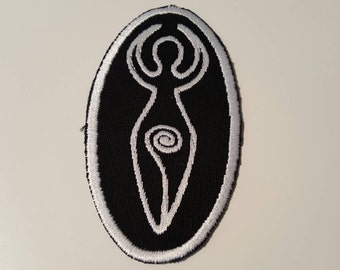 Spiral Goddess Wiccan Patch