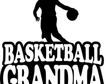 Basketball Grandma Hoodie/ Basketball Grandma Sweatshirt/ Basketball Grandma Gift/ Girl Player Basketball Grandma Hoodie Sweatshirt
