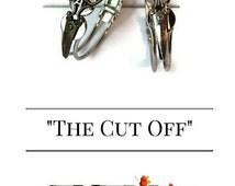 Crystal Scissor Bracelet - Initial Bracelet with Scissors - Hair Stylist Jewelry - Gift for Hairstylist or Dog Groomer - Scissor Bracelet