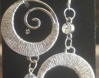 Spiral dangle bling