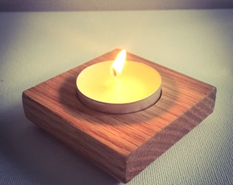 Wooden candle Holder for 1 candle perfect as home decor, table centerpiece, and wedding decor FREE SHIPPING!