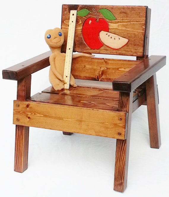 Kids country chair childrens outdoor furniture toddler boy for Childrens outdoor furniture
