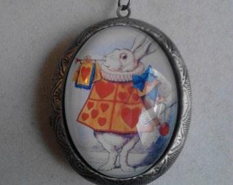 Alice In Wonderland inspired locket