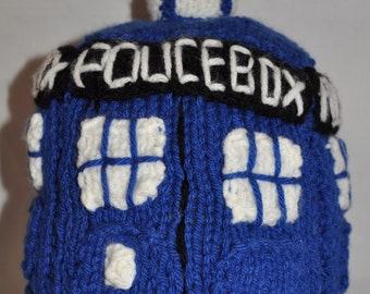 Doctor Who Knitted TARDIS Plush