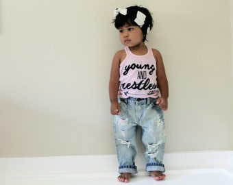 SALE Laguna Jeans - Baby Capris Baby Jeans Baby Shorts Toddler Capris Toddler Jeans