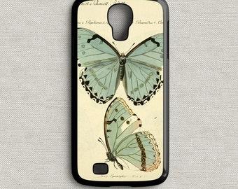 Vintage Blue Butterflies Phone Case Samsung GS4 | GS5 | GS6
