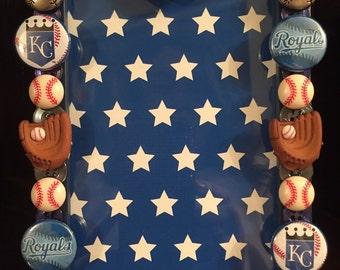 Kansas City Royals Button Picture Frame