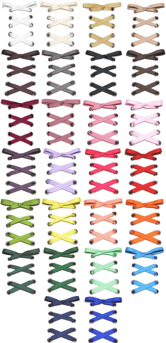 the shoelaces shop 1 4 grosgrain ribbon shoelaces