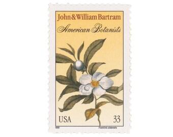 1999 33c Bartram - American Botanists - 10 Unused US Postage Stamps - Item No. 3314