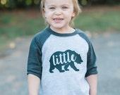 Bear Cub Baseball Shirt