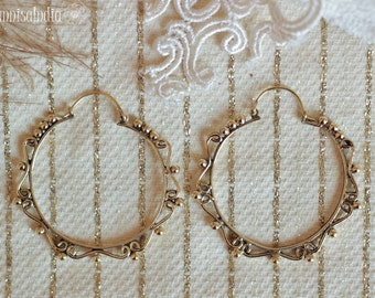 Big Brass Hoops
