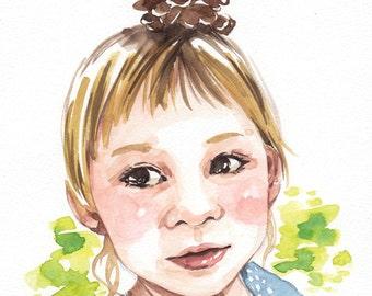 Custom Portrait (A5)