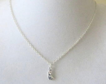Ghost Halloween Sterling Silver Necklace