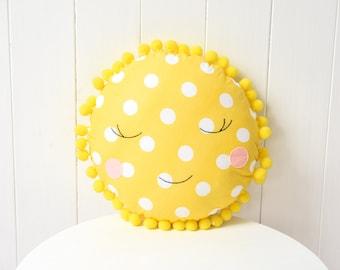 Sun Pillow for kids Toy cushion Sun doll