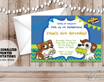 Digital Invitation File - Uggly Birthday Party - Personalized Birthday Party Invitations