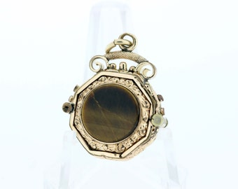 Gold-Filled Victorian Watch Fob