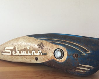 Vintage Schwinn Bicycle Tank with Horn Working Condition