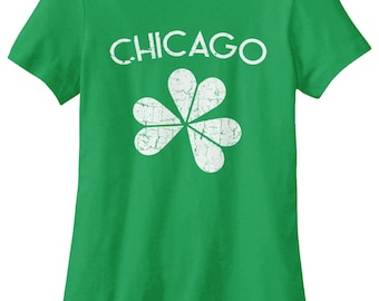 Chicago Shamrock Women's T-shirt