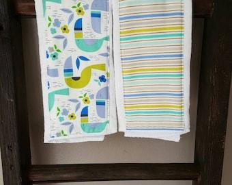 Tucan Sam Burp Cloth Set- Set of 2