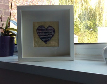 Textile Heart Picture