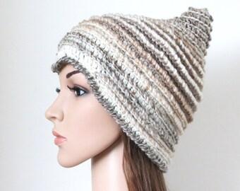 Elf Beanie Knitting Pattern : Pixie hat Etsy