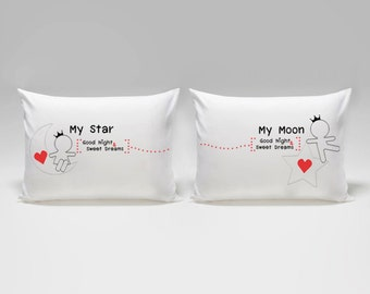 Girlfriend Gift Wife Gift Gifts for Him Boyfriend Gift Birthday Gifts for & Love pillowcase | Etsy pillowsntoast.com